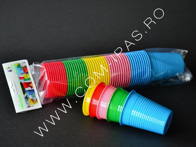 """Pahar color """"mix party"""""""