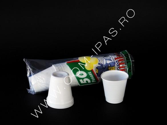 Pahar alb pp C160 JUMBO