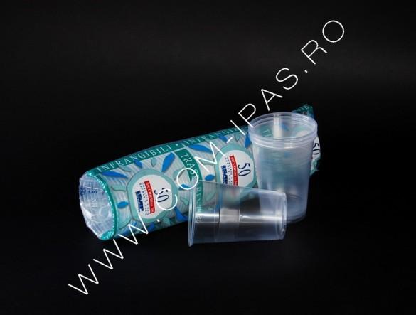 Pahar transparent  pp  P300 ISAP