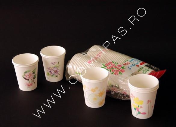Pahar carton 250 ml